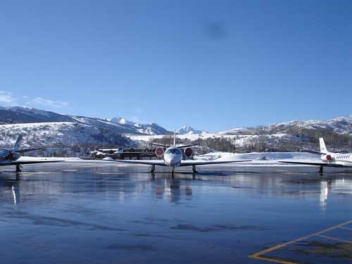 Aspen Pitkin county airport